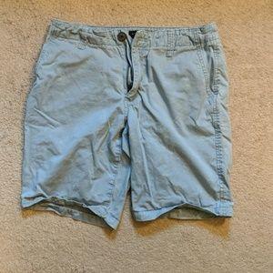 Aeropostale light blue shorts w/ swordfish pattern
